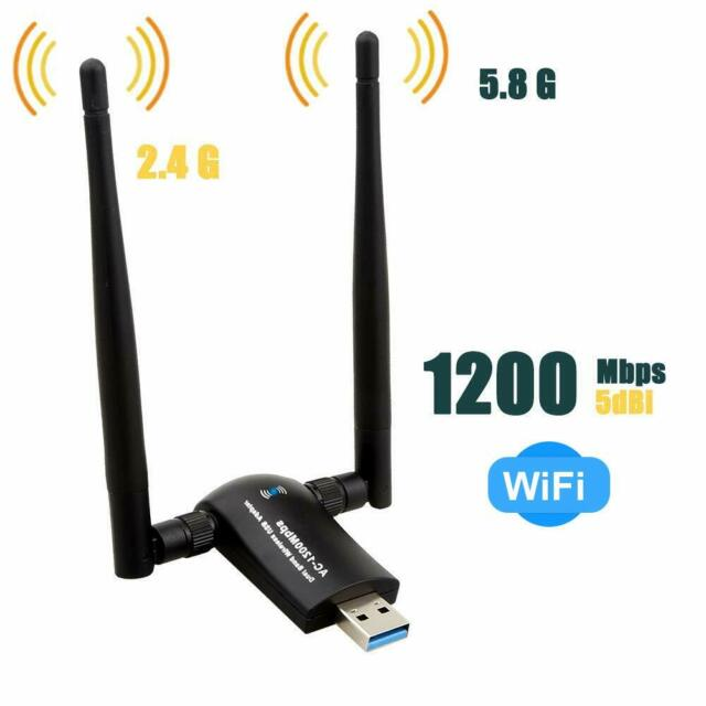 AC1200M Usb3.0 Wifi Adapter 2.4GHz//5GHz Dual Band for Win 10//8.1//8//7//XP//Mac OS10