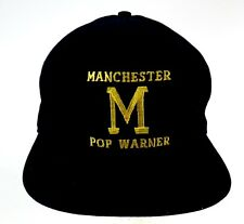 Manchester Pop Warner Hawks Navy Blue Snapback Cap Hat
