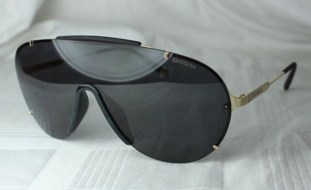 731123412c025 Carrera Men s Ca129s Shield Sunglasses Gold gray 99 Mm for sale ...