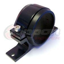 Fuel Pump Mounting Bracket Single Filter Clamp Cradle  BOSCH 044 BLACK