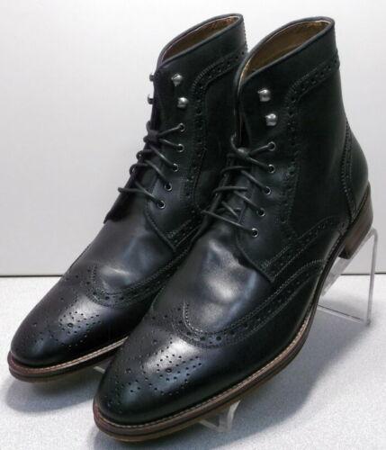 202841 PFBT50 Men/'s Shoes Size 11 M Black Leather Tie Up Johnston /& Murphy