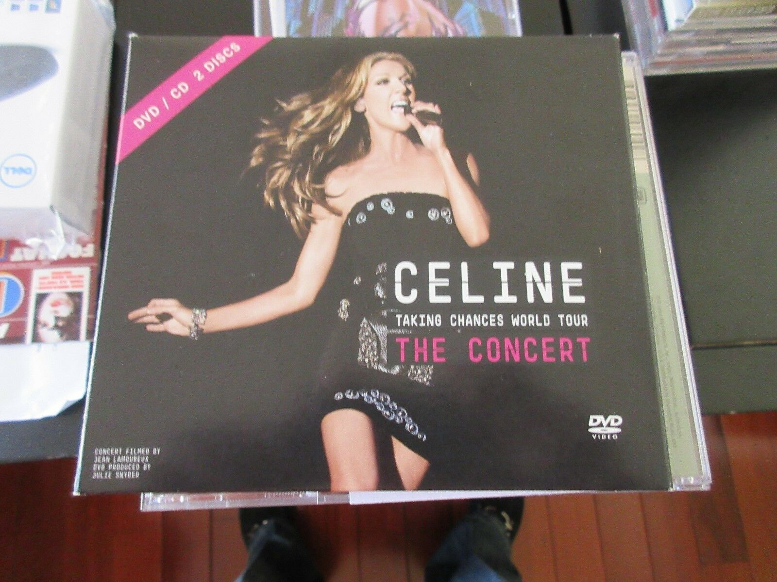 Celine Dion , Taking Chances World Tour /The Concert ,