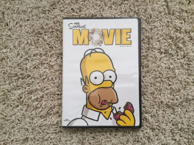 The Simpsons Movie Dvd 2009 Widescreen Movie Cash For Sale Online Ebay