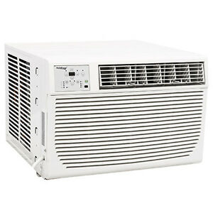 New wac12001w 12 000 btu heat cool window air conditioner for 12 000 btu window air conditioner with heat