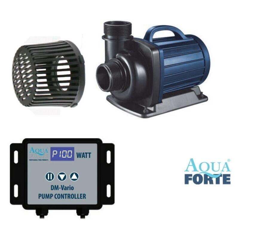 Aquaforte DM-10000 Vario  elektronisch stufenlos regelbare Pumpe