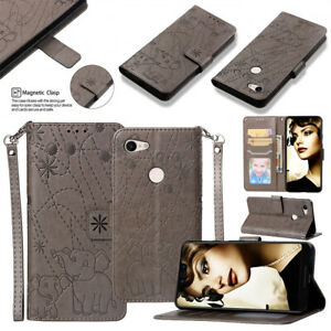 Pu Leather Flip Case For Sony Xperia Xa3 Phone Case For Sony Xperia Xa3 3d Embossed Elephant Fireworks Pattern Wallet Case Wallet Cases