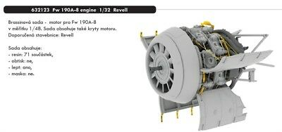 Eduard Brassin 1//32 Focke-Wulf Fw-190A-8 Engine # 632123