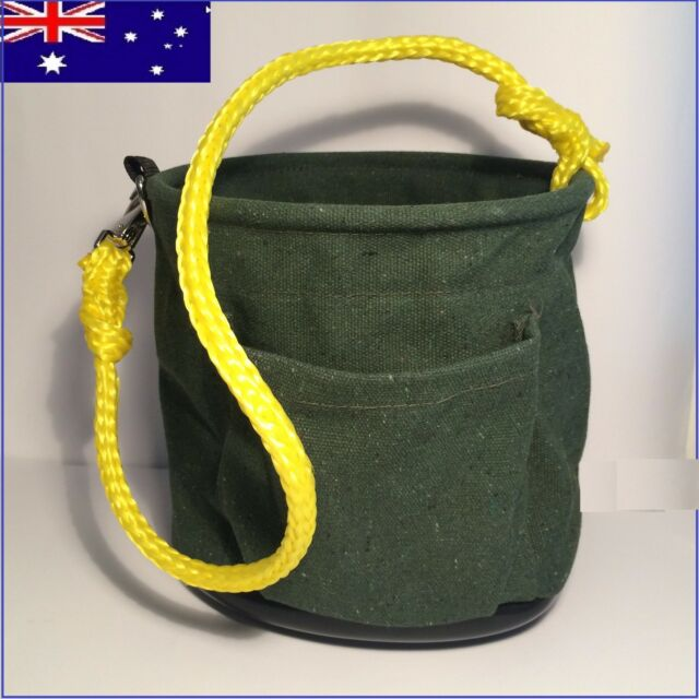 ISGM,Telstra,NBN,Optus Pole rope bag Tool Bag, loop a line,butt phone heavy bag