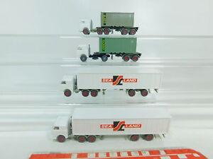 Bo722-0-5-4x-Wiking-h0-1-87-us-usa-contenedor-remolcarse-atraccion-sealand-S-G