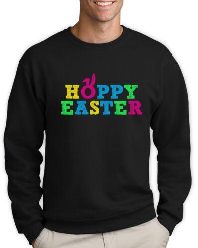 Hoppy Easter Happy Easter Funny Cute Holiday Sweatshirt Gift Idea