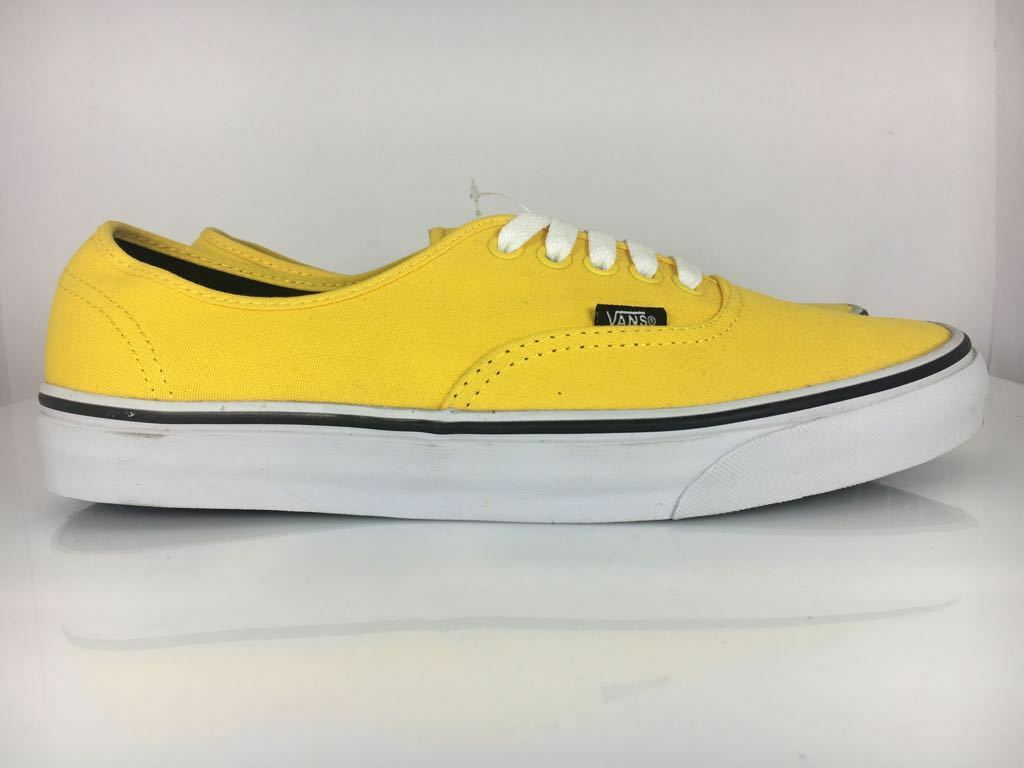 shoes N. 45 men VANS MENS US 11.5 SNEAKERS BASSE COL.yellow