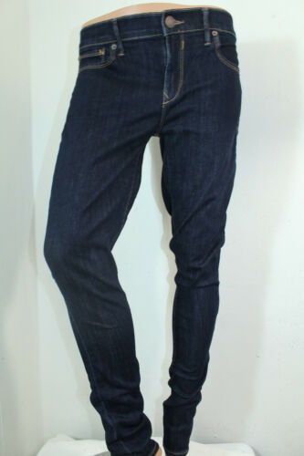 Jeans Rise donna Blu Legging Express Nwt Colore normale Sz New Mid 6 rrdqnX