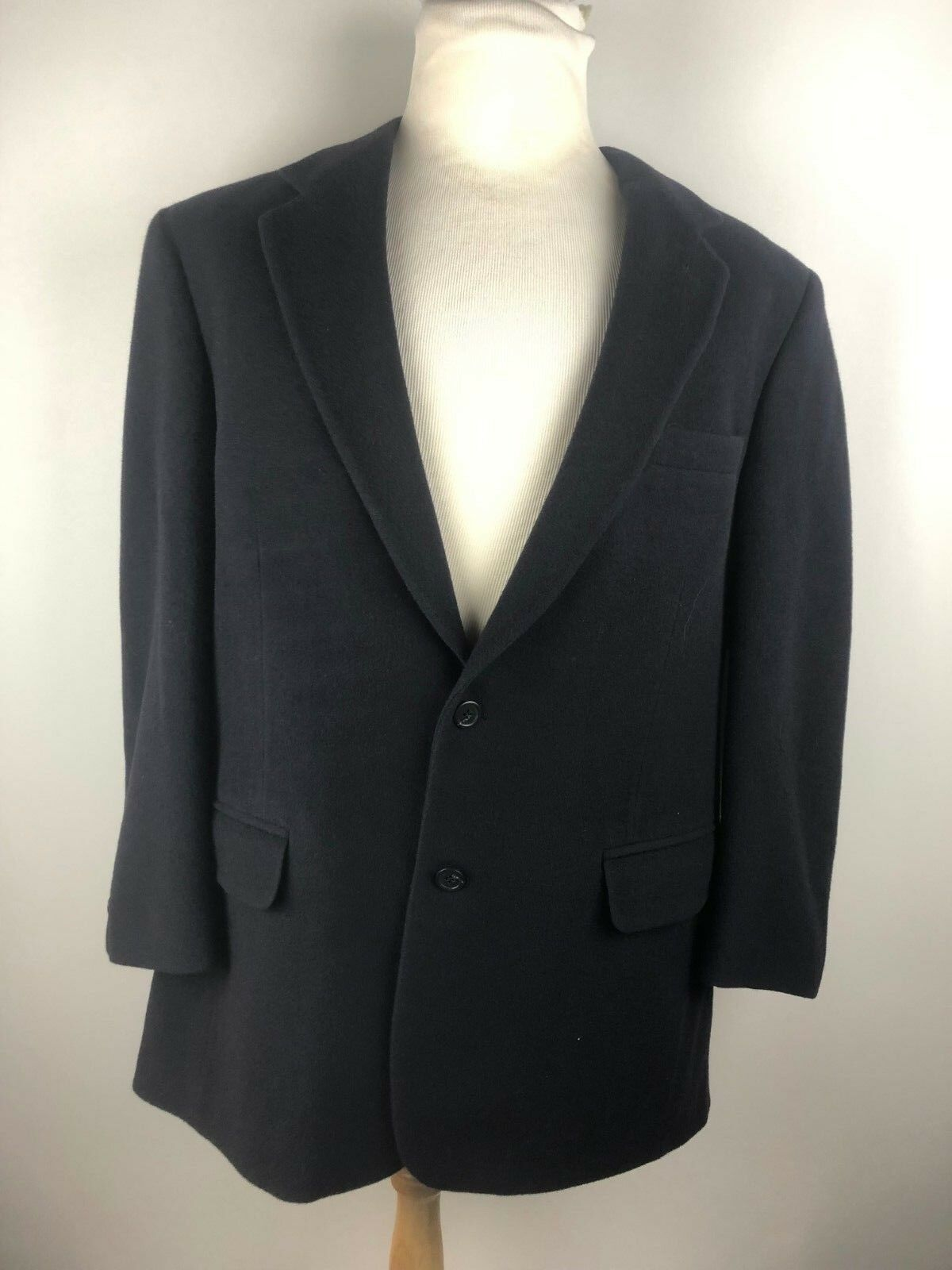 Vintage Brooks Bredhers 100% Camel Hair 2 Button Sport Coat Blazer Mens 42R USA