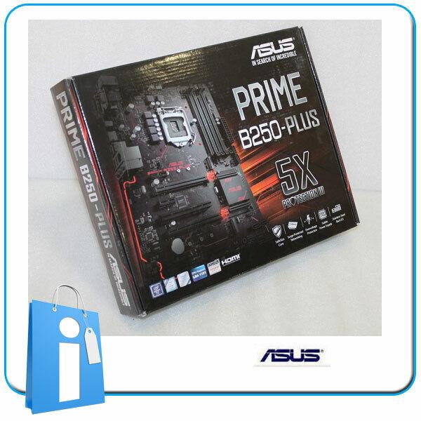 Placa base mATX B250 ASUS PRIME B250M-PLUS Socket 1151 con Accesorios