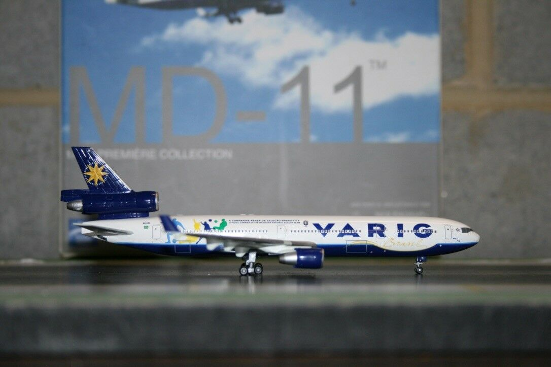 Dragon Wings 1 400 Varig Brasil Mcdonnell Douglas MD-11 PP-VTI (55965)