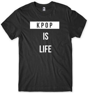 KPOP-Is-Life-Mens-Funny-Unisex-T-Shirt