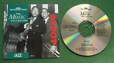 Sunday Times Music Collection Jazz Be-Bop Getz Parker Gillespie Basie Stitt + CD