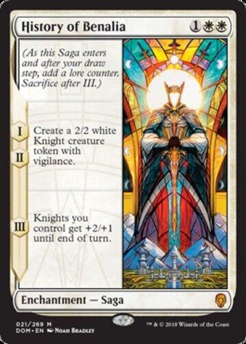 x1 Dominaria Near Mint English -BFG- MTG Magic History of Benalia 1x