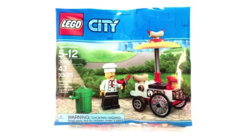 Lego Polybag Set 30356 City Hotdog Stand