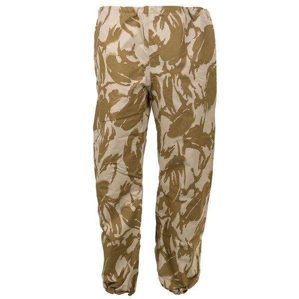 NEW British Army Desert DPM Goretex Over Trouser Elasticated Waterproof Pants
