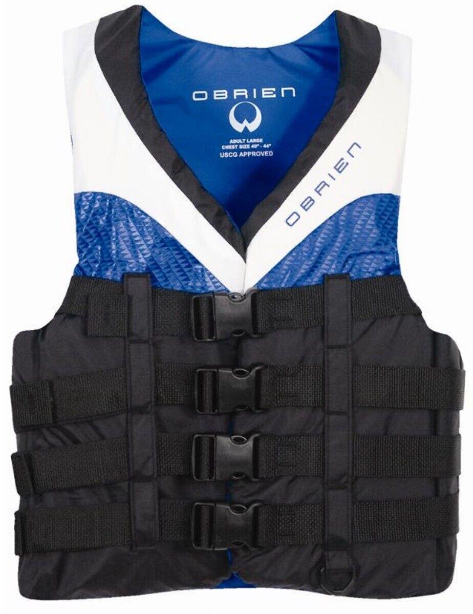 O'Brien 4 Hebilla pro Ce 50n Deportes Acuáticos Esquí AYUDA FLOTE CHALECO XS