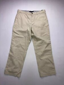 TOMMY-HILFIGER-Chino-Trousers-W36-L30-Cream-Great-Condition-Men-s