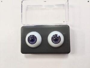 20mm Violet Glastic Realistic Acrylic Doll Eyes