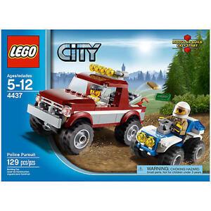 Lego City 4437 Police Pursuit 129pcs New Sealed 2012
