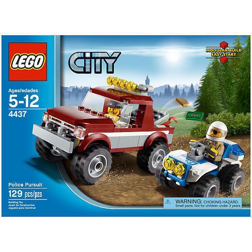 4437 POLICE PURSUIT lego city town SEALED legos set 4x4 retired pickup truck atv