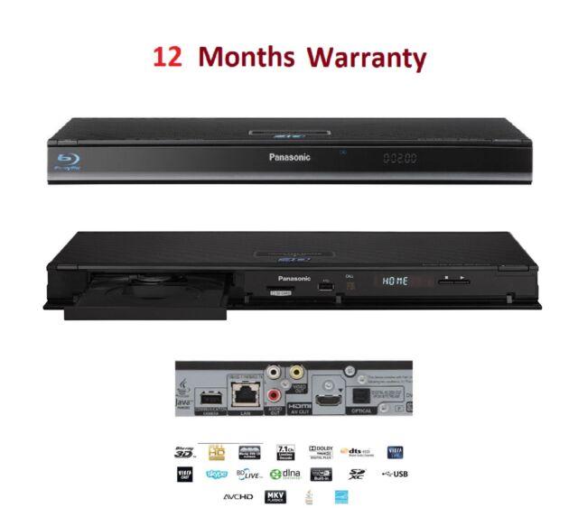 Drivers: Panasonic DMP-BDT210EB Blu-ray Player