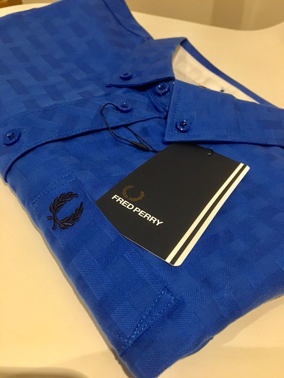Frot PERRY ladies Refresher Blau shirt Größe 6