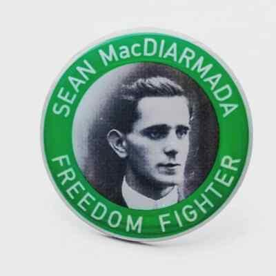Palestine Irish Republican Hunger Strike Ireland Pin Badge