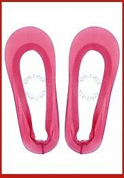 New Womens Sheer Hosiery Footsie Soft Sole Socks One Size Alternative Pop Socks