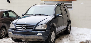 2003 MERCEDES AWD-  GREAT  SHAPE - HWY KMS
