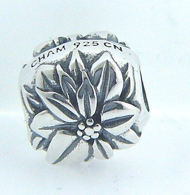 GH-34 CHAMILIA STERLING SILVER CROSS BEAD NEW IN POUCH