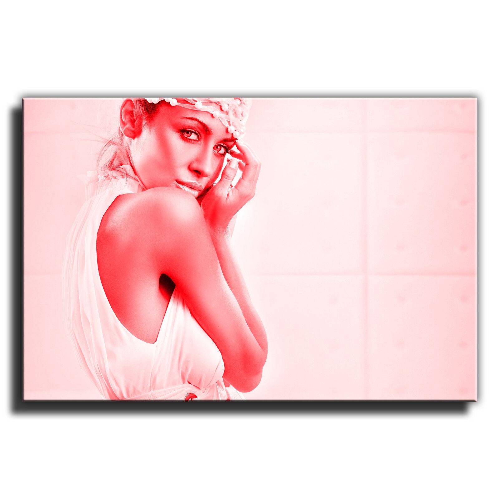 Sexy Mujer Desnuda Erótica solo solo solo LONA parojo arte Foto impresión de 2 0fcabf