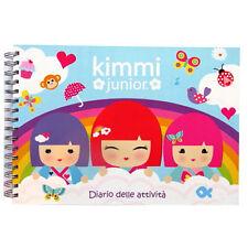 Kimmi Junior Activity Album - 134 Pages - Draw, Colour, Stickers, Activities..