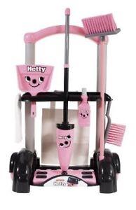 Casdon-Hetty-Rosa-Carro-de-limpieza-pequeno-ayudante-58cm-alta-finja-el-juego