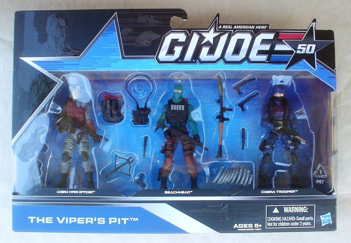 THE VIPER'S PIT GI Joe 50th Anniversary Beachhead Cobra Viper Officer Trooper