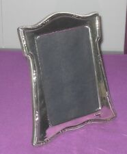 "8"" VINTAGE 1985 STYLISH STERLING SILVER FULLY HALLMARKED PHOTO PICTURE FRAME"