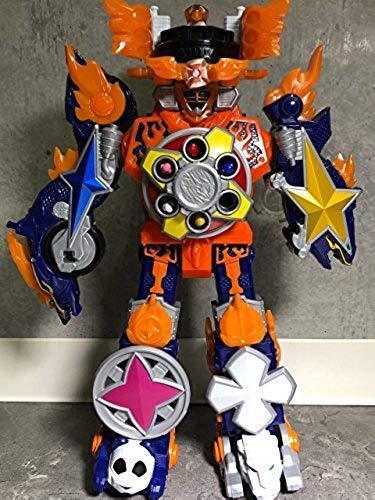 Bandai Power Rangers Shuriken Sentai Daioh Ninninger DX Gekiatsu Daioh Sentai JAPAN F/S 98302b