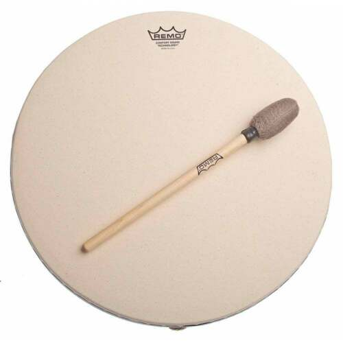 "Remo Buffalo Synthetic Skin Drum 16/"" x 3.5/"" With Comfort Sound Technology MDF064"