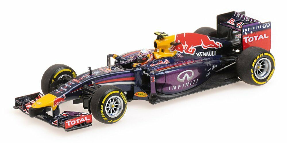 Red Bull RB10 Race Version 2014 - Daniel Ricciardo 1 43 Model 410140003