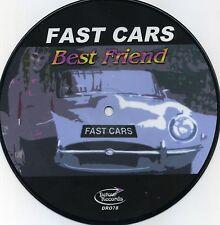 """Fast Cars - Best Friend 7"""" PICTURE DISC Small World Chords Jam Jolt Mod Powerpop"""