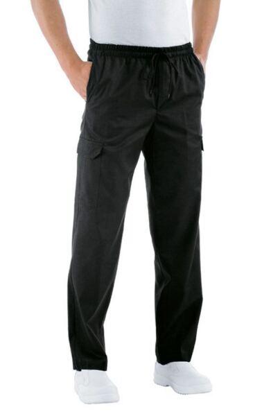 100% De Calidad Pantalones Cocinero Isacco Pantachef Mezcla De Algodón