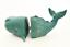 """thumbnail 2 - Whale Bookends Ocean Blue Nautical Beach Fishing Cabin Decor 5"""" Tall"""