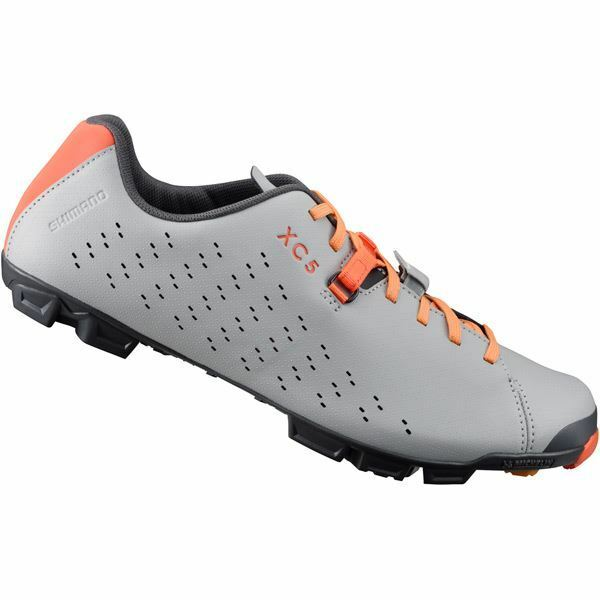 Shimano XC500 SPD MTB shoes, grey    orange, size 50  here has the latest