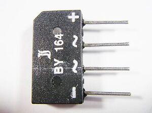2x B80C1500B Einphasen Brückengleichrichter Urmax 160V If 1,5A Ifsm 50A