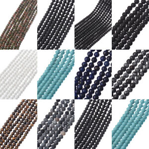 Wholesale-Lot-Natural-Gemstone-Round-Spacer-Loose-Beads-Accesories-4MM-6MM-8MM