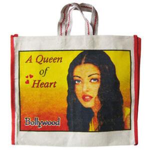 BOLLYWOOD-Freizeittasche-Einkaufstasche-Aishwarya-Rai-Bachchan-Ash-Shahrukh-Khan